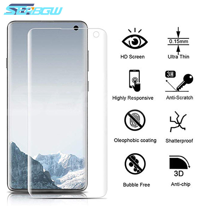 99D Full Cover Soft Hydrogel Film On For Samsung Galaxy Note 10 Pro 9 8 S10 S9 S8 Plus S10e S7 Edge Screen Protective Not Glass