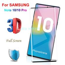 10D Full Cover Tempered Glass For SAMSUNG Galaxy Note 10 Note10 Pro Screen Protector Plus Protective film