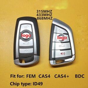 Image 3 - Car Keyless Smart Remote Key with ID49 Chip for BMW 3 5 7 Series X3 X5 X6 X7 CAS4 CAS4+ CAS3+ FEM BDC Car Intelligent Remote Key