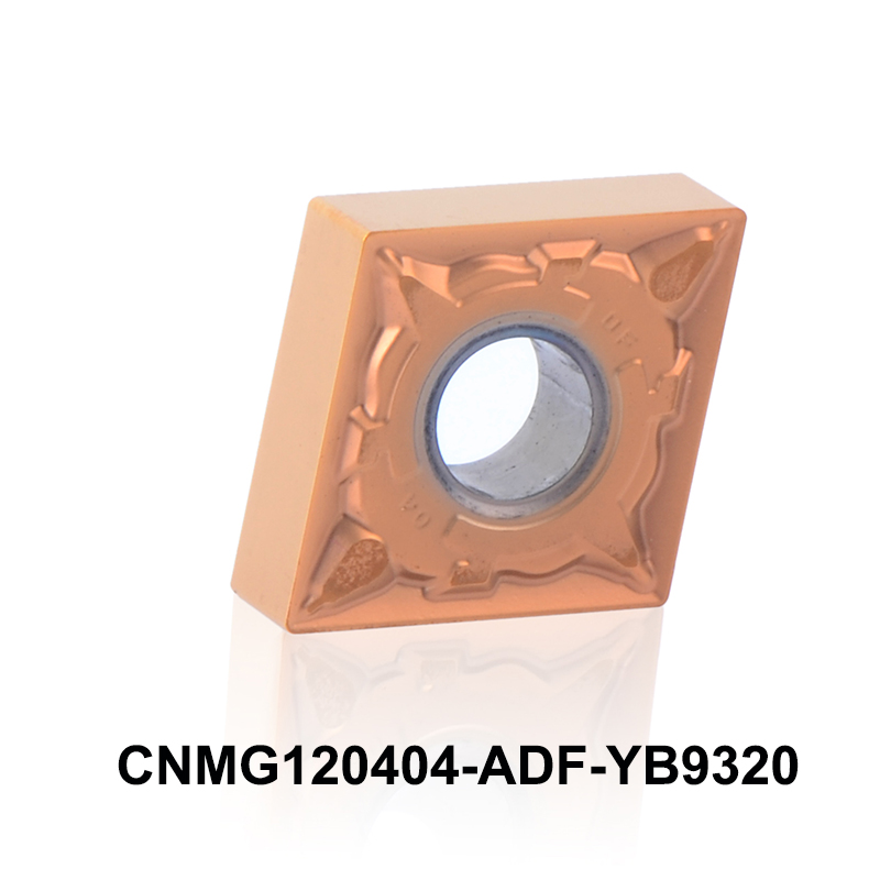 2016 new CNC turning insert CNMG120404-ADF YB9320 high peformance for stainless steel <font><b>CNMG</b></font> <font><b>120404</b></font> CNMG120404 CCMT431 image