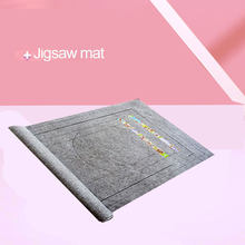 Jigsaw Roll Felt Mat Can Accommodate For Up To 2000 Pieces Puzzle Accessories Portable Travel Storage Bag Crawling Mat Baby Toy(China)