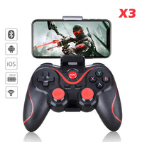Gamepad X3 Wireless Bluetooth Joystick PC Android IOS Game Controller BT4.0 Game Pad per telefono cellulare Tablet TV Box Holder