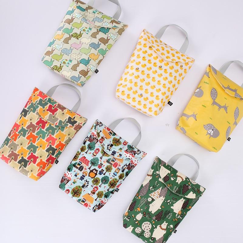Multifunctional Baby Diaper Bags Reusable Fashion Waterproof Diaper Organizer Portable Big Capacity Mummy Bag Dropshipping