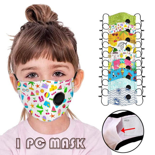 Kids Boys Girl Cotton Washable Cartoon Facemask Cartoon Maske Activated Carbon Face Maskswashable And Reusable Scarf Maske 9 2