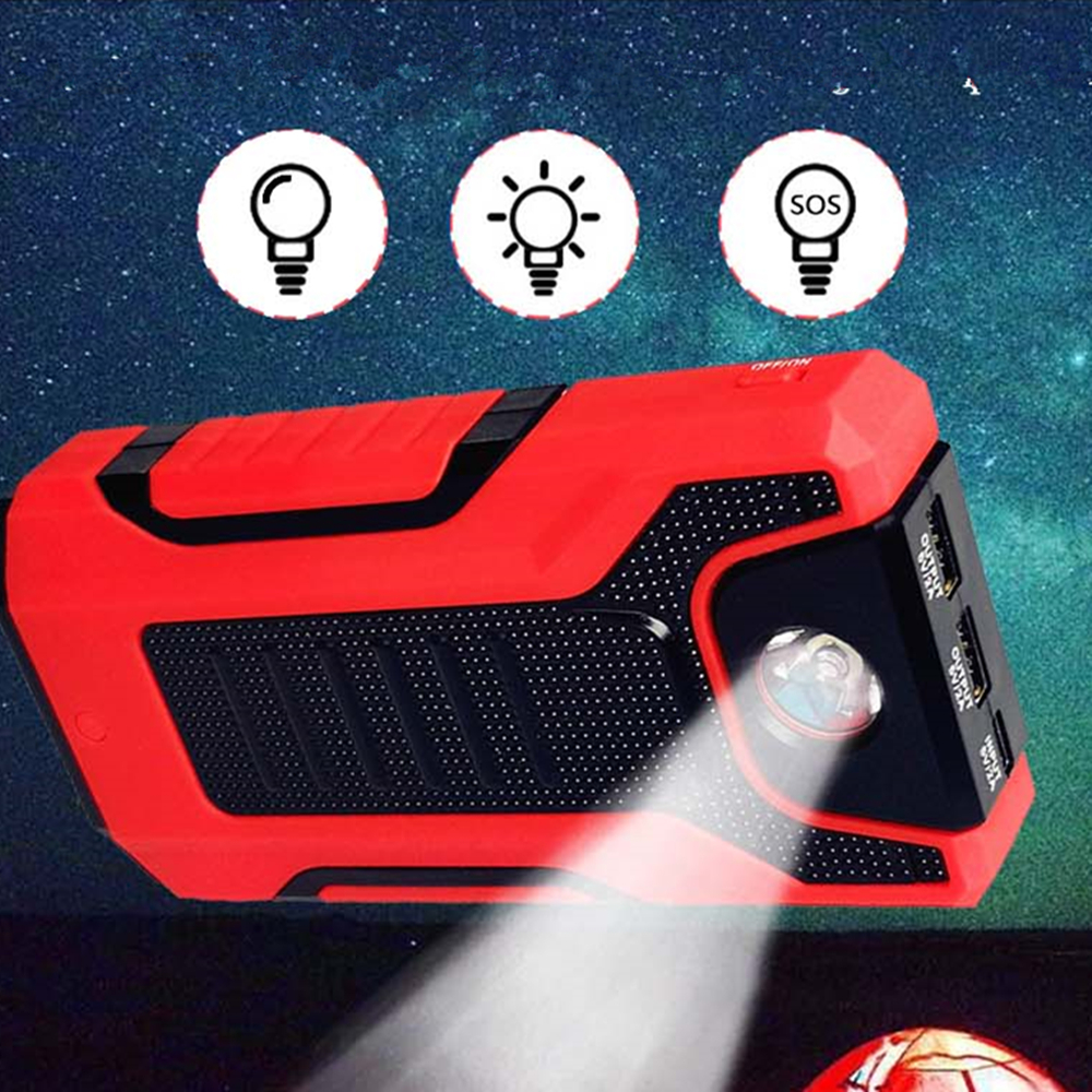 lowest price GkFLY Car Jump Starter 1200A Emergency Booster  Starting Device Portable Charge Auto Battry New Power Bank LED SOS 12V