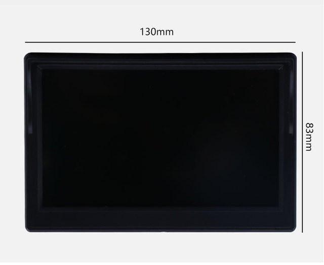 "5 Inch or 4.3 inch Car Monitor TFT LCD 5"" HD Digital 16:9 800*480 Screen 2 Way Video Input For Reverse Rear View Camera DVD VCD 1"