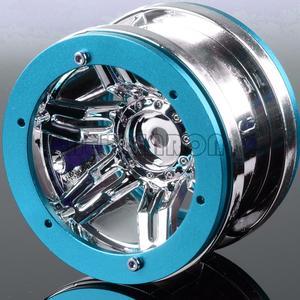 """Image 5 - ENRON 4 Uds. De llantas con abalorios de 2,2 """"para coche todoterreno D90 CC01 Axial HSP SCX10 SCX10 II YETI Traxxas TRX4"""