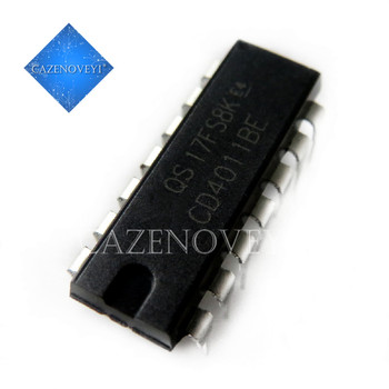 10pcs/lot CD4011BE TC4011BP CD4011 TC4011 DIP-14 In Stock - discount item  8% OFF Active Components