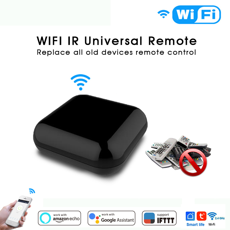 Smart Switch WIFI Wireless IR Infrared Remote Control Smart Home  TV Air Conditioner SAT Work For Alexa Echo Google Home IFTTT