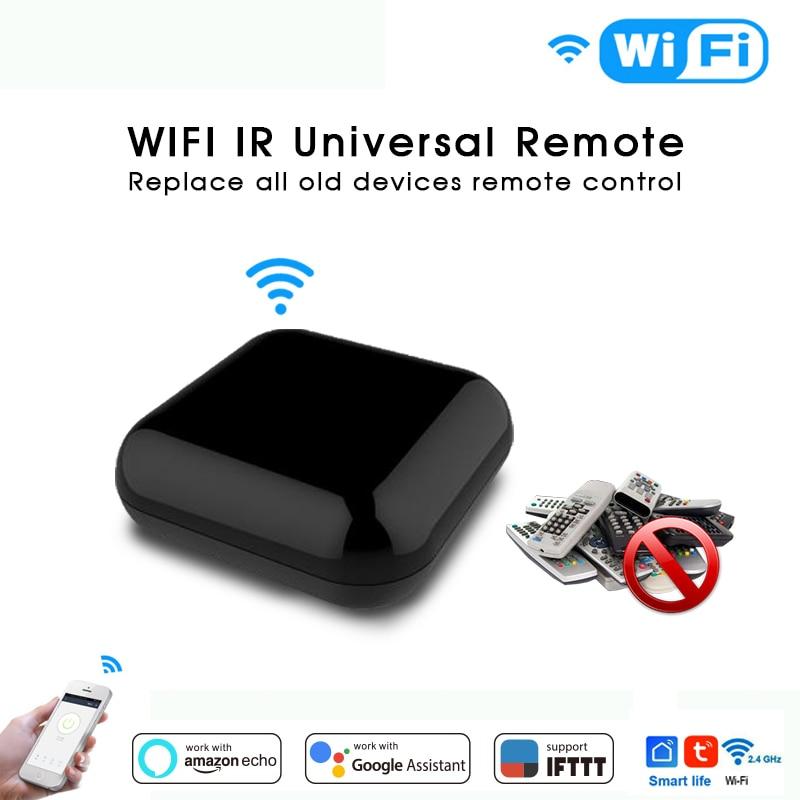 Smart Switch WIFI Wireless IR Infrared Remote Control Smart Home  TV Air Conditioner SAT Work For Alexa Echo Google Home IFTTT