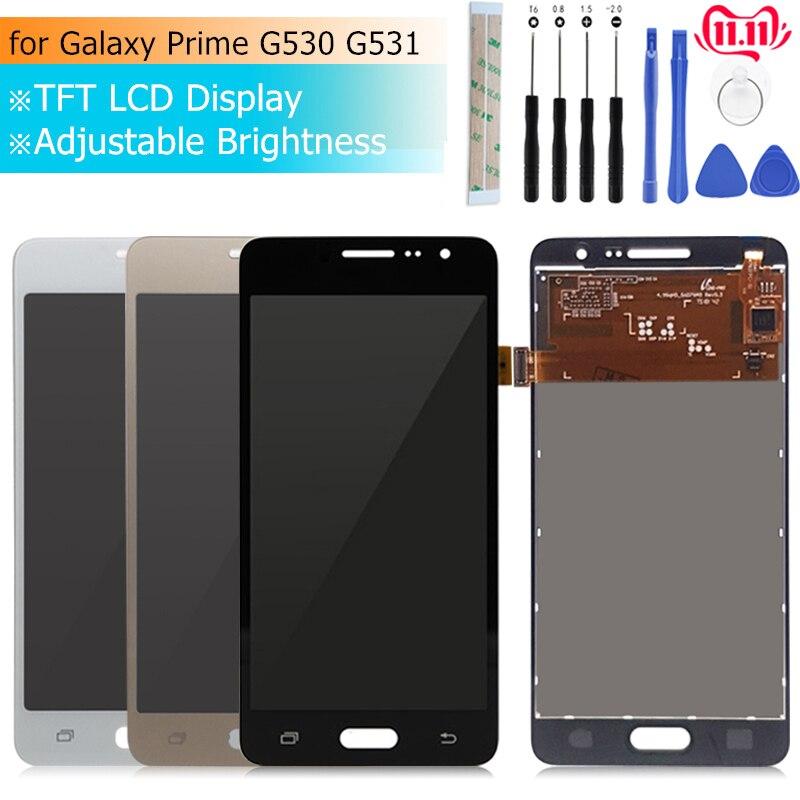 Pour Samsung GALAXY Grand Prime affichage g530 lcd écran tactile numériseur assemblée G531H G531f G531FZ affichage pièces de réparation