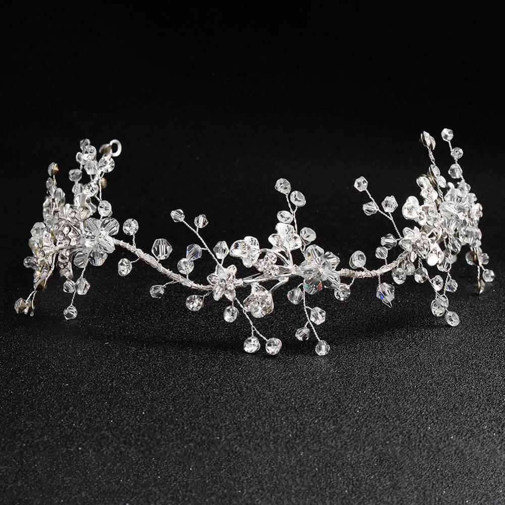 Wedding Hair Silver Bridal Hair Ornaments Fashion Hairwear Accessories For Hair Women Girl Headdress Decoration TS138