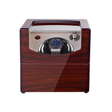 Box Watch-Winder-Box Rotator Cabinet Motor-Display Shaker Automatic Black Clock Carbon-Box