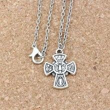 3 шт/лот сплав Распятие Иисуса Христа крест религия амулеты