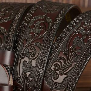 Image 5 - מפעל ישיר חגורת קידום מחיר חדש אופנה מעצב חגורת חגורות עור אמיתי באיכות גבוהה עבור גברים אבטחת איכות