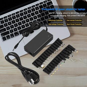 90W wymiana laptopa ładowarka AC 28 wymienne złącza elektronika użytkowa akcesoria części tanie i dobre opinie SOONHUA CN (pochodzenie) 19 v Podłącz EU US Plug (Optional) AC 100 ~ 240V 1 5A 50 60Hz 19V 4 74A 1 1m 3 6ft Approx 240 x 80 x 30mm 9 4 x 3 1 x 1 2in