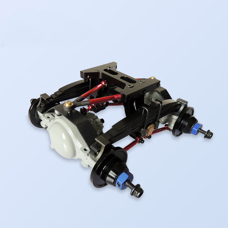 1Set 1/14 Tamiya Tractor Rear Suspension Kit Bottom Frame Hanging Kits W Linkage Pullrods for <font><b>1:14</b></font> Trailer <font><b>Truck</b></font> RC Car <font><b>Parts</b></font> image