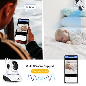 Image 4 - Hiseeu 1080P Wireless WIFI IP Camera HD 2MP Pan Tilt Two way Audio Night Vision Phone APP Control Motion Detection+ TF Card Slot