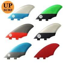 Quillas FCS-aleta de quilla para deportes acuáticos, accesorios de surf