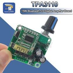 Bluetooth 5,0 4,2 TPA3110 15 Вт + 15 Вт Цифровой стереозвук, усилитель мощности, плата, модуль 12 в-24 в, для автомобиля, для USB динамика, портативный динамик