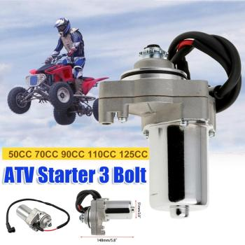 цена на Electrical Starter for 50CC 70CC 90CC 110CC 125CC Motorcycle Scooter ATV Quad, Universal Electric Starter Motors for TAOTAO SUNL