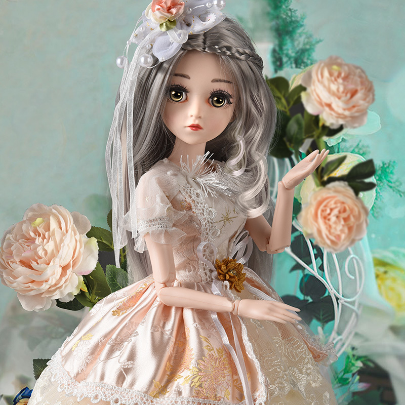 45cm Large Simulated Music Doll Girl Set Toys Princess Series Joint Dolls Girls'birthday Gifts