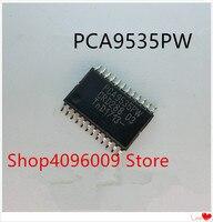 NOVA 10 pçs/lote PCA9535PW PCA9535 TSSOP-24