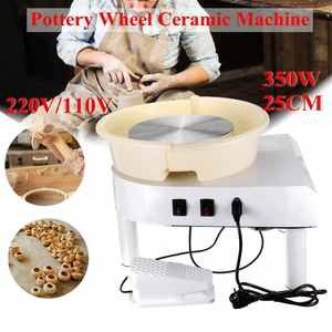 2019 New Turntable 250W/350W Electric Tours Wheel Pottery Machine Ceramic Clay Potter Art For Ceramic Work Ceramics 110V/220V