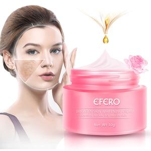 Image 4 - EFERO פנים קרם הלבנת נמשים להסיר אנטי גיל כתמים שחורים עור טיפול כהה כתמי Melasma ברק חלק פנים סרום