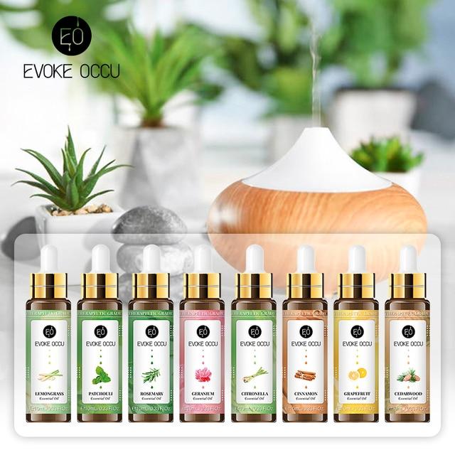 Sweet Orange Essential Oils 10ML with Dropper Diffuser Aroma Oil Lavender Eucalyptus Vanilla Peppermint Frankincense Oil 1