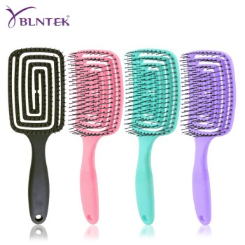 YBLNTEK Detangling Hair Brush  Massage Hair Comb Detangler Hairbrush for Curly Hair Women Men Hair Scalp Massage Comb