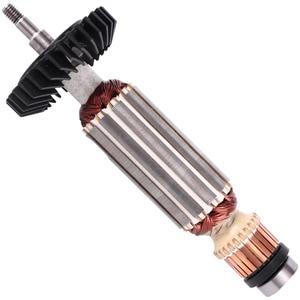 Image 1 - AC220 240V угловая шлифовальная машина арматура якорь заменить для MAKITA GA5030 GA4530 GA4030 GA5034 GA4534 GA4031 PJ7000 GA4030R GA4034 часть
