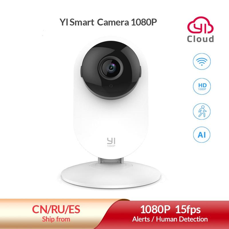 Yi casa 1080p câmera 2.4g wifi câmera ip interno ai detecção humana visão noturna atividade alertas câmeras para casa/gatos/animais de estimação/nuvem