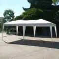 10'x 20' Wedding Party Tent Folding Gazebo Beach Canopy With Carry Bag