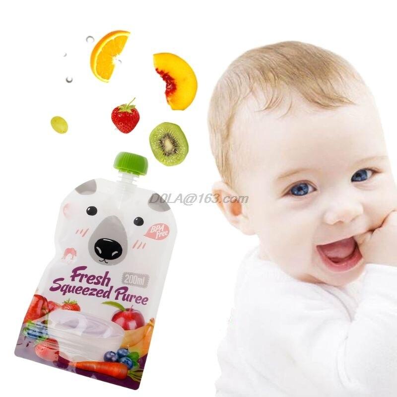 Armazenamento de comidas p/ bebê