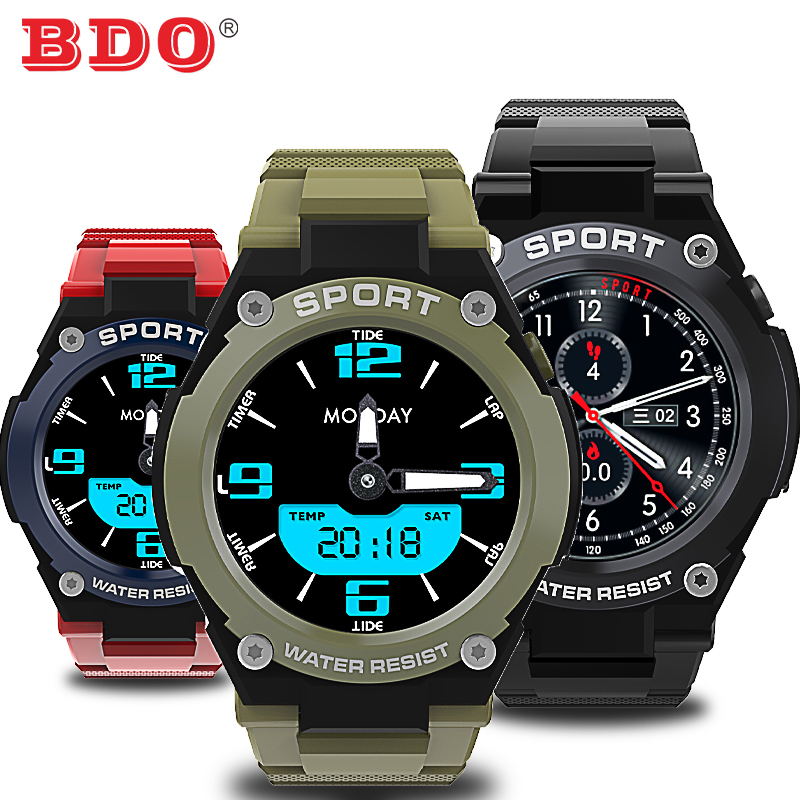 BDO DT97 Sports Bluetooth Call Smart Watch GPS Recording Health Management Music Control Outdoor Air Bracelet