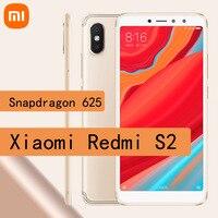 Celular Xiaomi Redmi S2 smartphone 4GB + 64GB Snapdragon 625 Android Handy 4G LTE handy Redmi y2