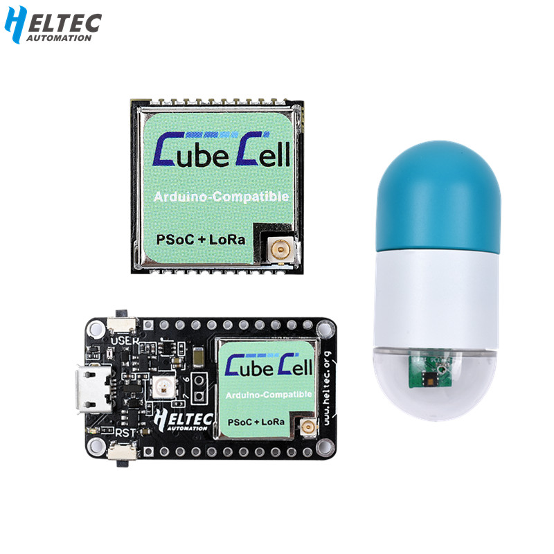 Free Shipping New Heltec Lora Node ASR650x CubeCell Module/Development Board For Arduino/Lora  Sensors Waterproof  IP67