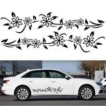 קש פרח טוטם אישיות מכונית מדבקות לרכב מאפס חדש רכב מדבקות