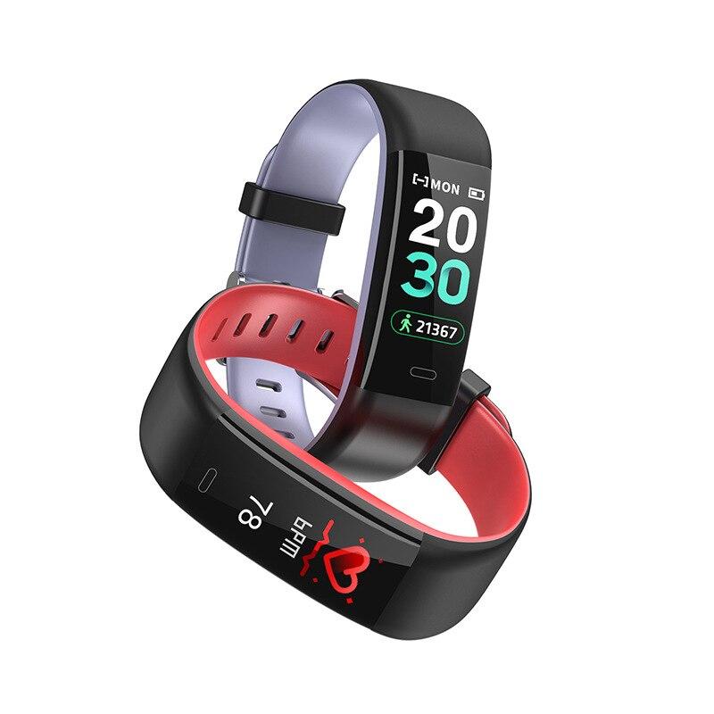 Y59 SmartWatch Bracelet Bracelet fréquence cardiaque pression artérielle SmartBand Fitness Tracker Bracelet pour Bracelet d'honneur vs B80 SmartWatch