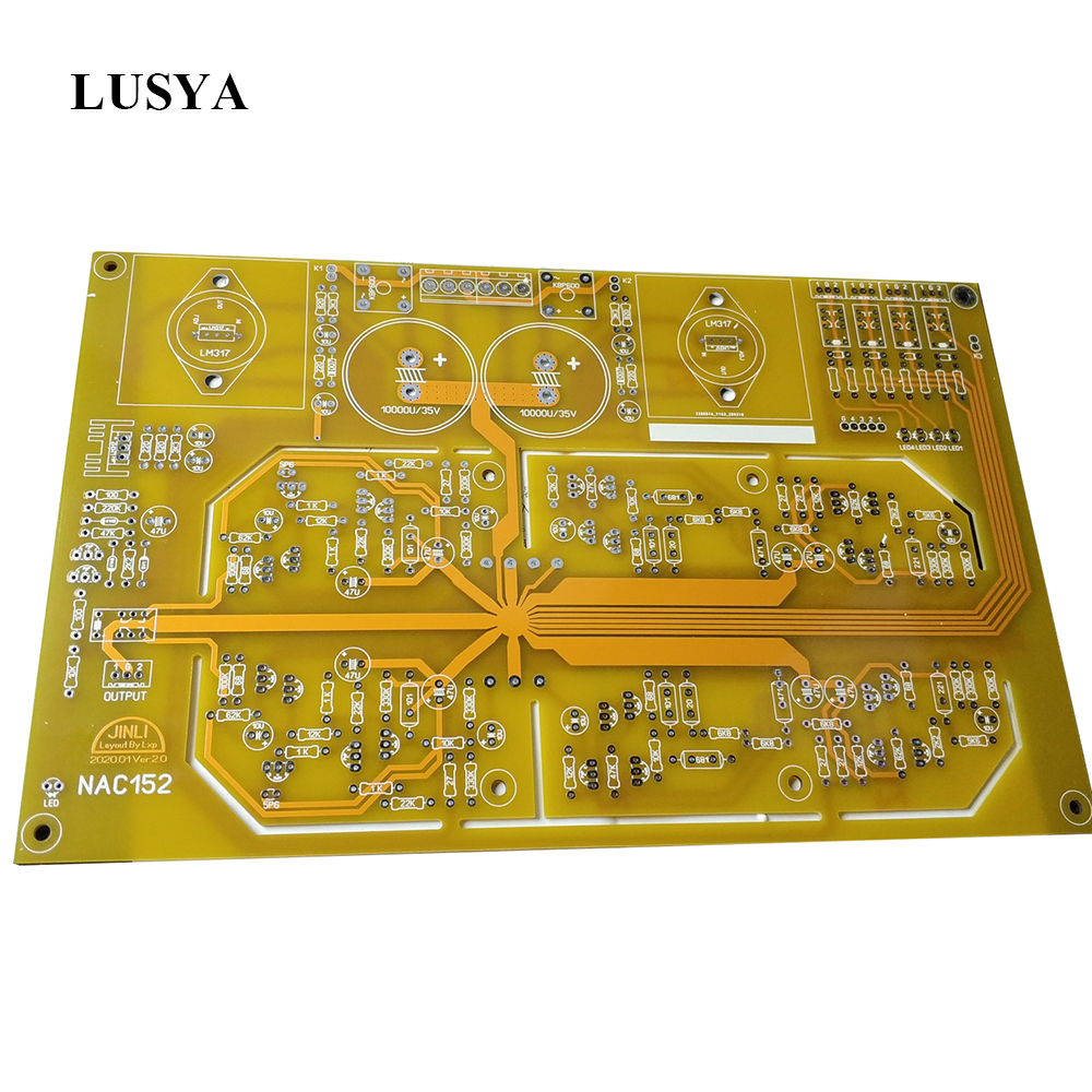 Lusya DIY Kits NAC152 Preamplifier PCB Board Reference NAIM NAC152 Circuit T1084