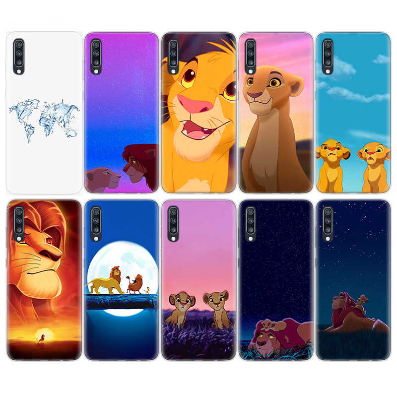 Simba the Lion King Phone caser Case For Samsung A90 A80 A70 A60 A50 A50S A40 A30 A30S A20E A10E A10s S10Plus M40 M30 Cover