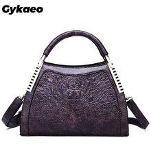 Gykaeo Neue 2020 Winter Weibliche Straße Einkaufen Messenger Taschen Handtaschen Frauen Berühmte Marken PU Leder Schulter Tasche Sac Haupt Femme