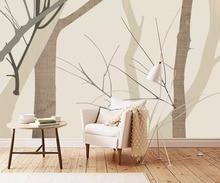 цена на XUE SU Wall covering custom wallpaper simple creative fashion bedroom living room background wall 3D mural