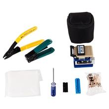 Fiber Optical Cleaver Cable Tool Bag FTTH Fiber Optic Splice Tool Kit Bag FC 6S Fiber Cutter