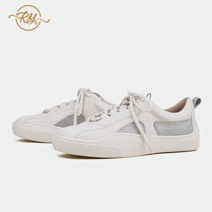 Ry-Relaa Shoes White Korean-Version Sports Personality New Thick The of Sole Wild Autumn