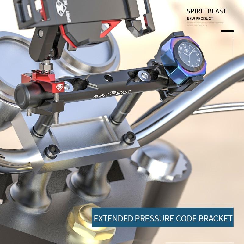 Spirit Beast Multifunctional Expansion Bracket Motorcycle Decorative Spotlight Bracket Rail Motocross Handlebar Code Bracket
