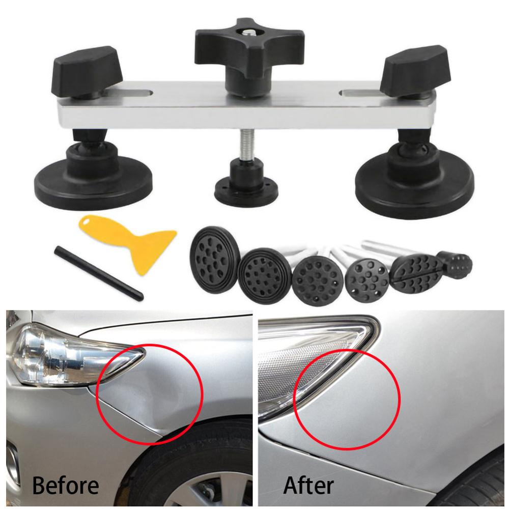 New Develop Car Paintless Dent Puller Lifter Body Glue Gun Repair Hail Removal Tabs Tool Kit Carro Wholesale Quick Delivery CSV
