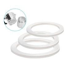 Bague d'étanchéité en Silicone, rondelle Flexible, anneau de remplacement pour tasses Moka Pot expresso cuisine cafetière accessoires pièces