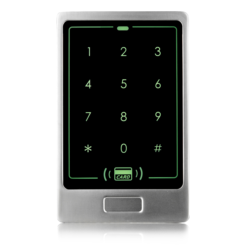 ZKTeco ZK-FP200E Waterproof Metal Touch Access Controller ID Card Password Access Control System Attendance Machine